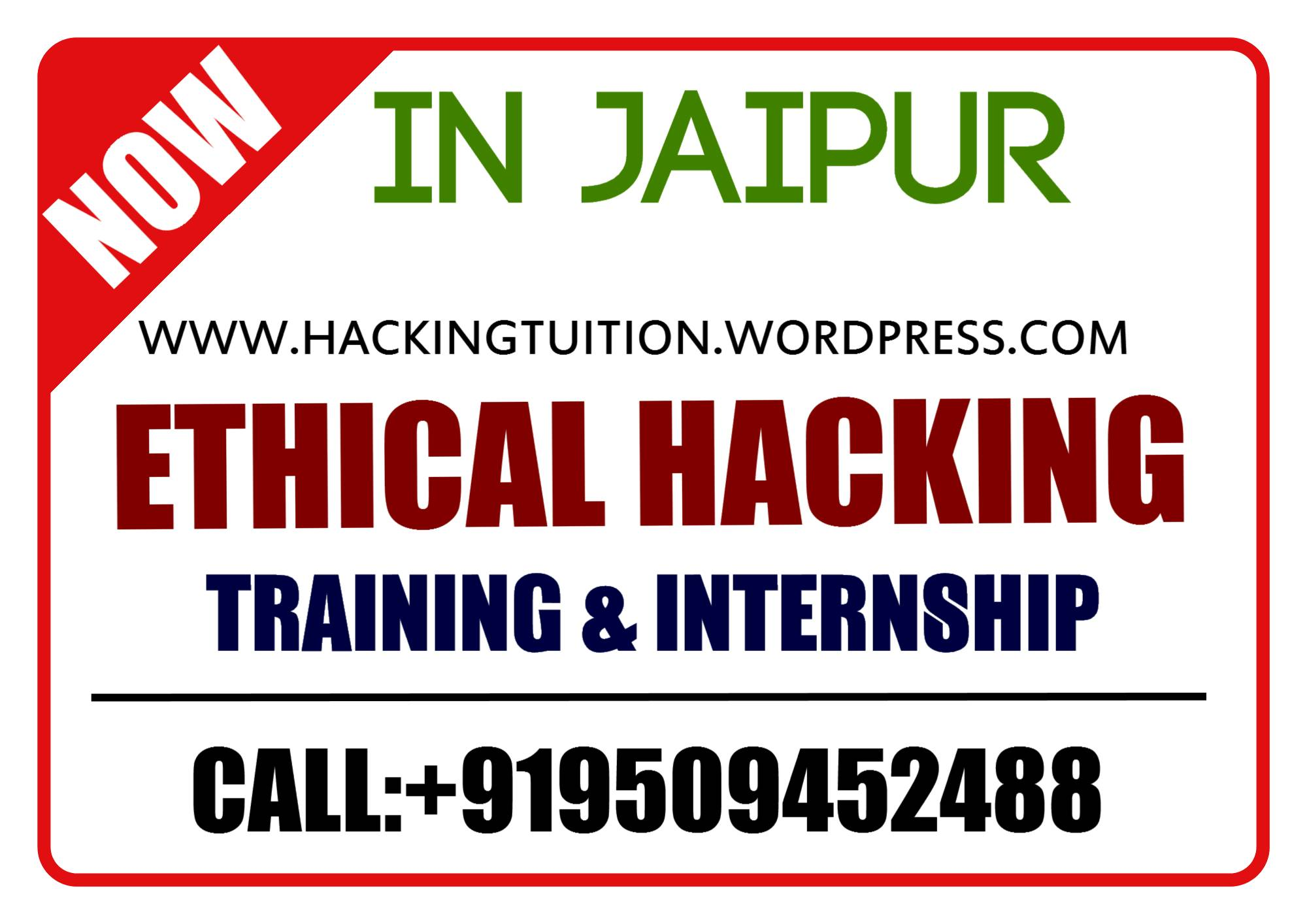 Cehv9 Training Ethical Hacking Tuition Center Jaipur